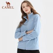 CAMEL 骆驼 A0W118153 中性款摇粒绒卫衣外套