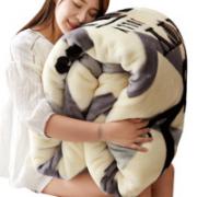 YUNSHUIYAO 云水谣 冬季加厚法兰绒毯子 100*120cm¥19.90 0.5折