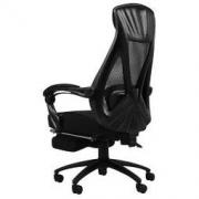 HBADA 黑白调 HDNY077BMJ 人体工学电脑椅 带脚托 黑色798元
