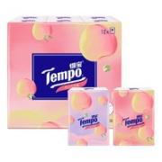 Tempo 得宝 甜心桃手帕纸 4层7片12包¥8.00 2.3折