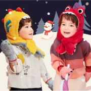 kocotree kk树 儿童围脖护耳一体帽¥34.65 2.3折