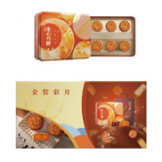 Maxim's 美心 金装彩月 月饼礼盒装 混合口味 420g¥188.00 6.8折