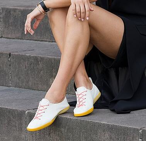 ECCO 爱步 Simpil II 简约Ⅱ系列 女士简约牛皮平底板鞋 208823 到手¥505.94