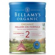 BELLAMY'S 贝拉米 有机奶粉 2段 900g177.3元