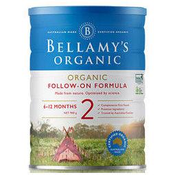 BELLAMY'S 贝拉米 有机奶粉 2段 900g