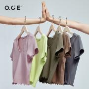 OCE 短袖T恤  短款打底上衣  EWLXT1291418.13元包邮+87淘金币