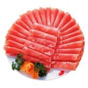 PLUS会员:HONDO BEEF 恒都 国产谷饲 牛肉卷 500g*4件116.23元(买三赠一,合29.06元/件)