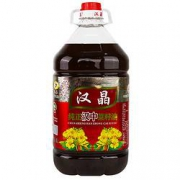 PLUS会员:汉晶 纯正菜籽油 5L64元 包邮(多重优惠)