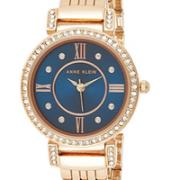 prime会员!Anne Klein 安妮·克莱因 AK/2928NVRG 施华洛世奇水晶玫瑰金手镯手表  直邮到手约¥170.68¥155.76 比上一次爆料降低 ¥14.81