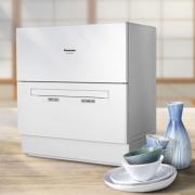 Panasonic 松下 NP-K8RWH3R 台式洗碗机 5套