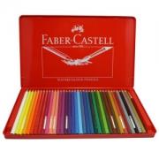 FABER-CASTELL 辉柏嘉 115937 彩色铅笔画笔套装 36 红铁盒装79.5元