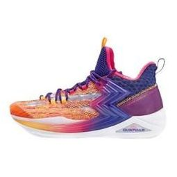 361° AG系列 Big3 二代 男子篮球鞋 572021109-3 白色/奇幻紫 44