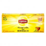 88VIP:Lipton 立顿 黄牌精选红茶 25包6.81元包邮+44淘金币