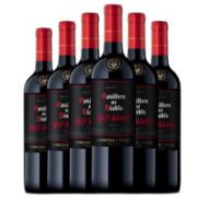 Casillero del Diablo 红魔鬼 智利原装进口红酒 干露红魔鬼黑金珍藏红葡萄酒 750ml 整箱6支装