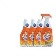 Mr Muscle 威猛先生 油污清洁剂 455g+455g*3瓶补充装 柑橘香30.93元(需买2件,共61.86元,需首购礼金,满减)