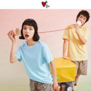 DAPU 大朴 男女款短袖T恤 AF2F01001