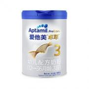 Aptamil 爱他美 卓萃系列 幼儿配方奶粉 3段 900g255元