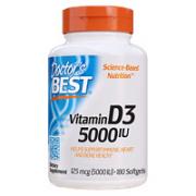 Doctor's BEST 维生素D3 180粒/瓶¥59.25 4.3折 比上一次爆料降低 ¥4.75