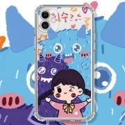 YINUO 以诺 华为系列 定制卡通手机壳3.8元包邮(需用券)