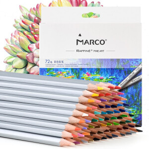 MARCO 马可 7100-72CB Raffine系列 彩色铅笔 72色 纸盒装