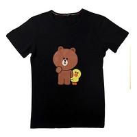 LINE FRIENDS 中大童短袖T恤