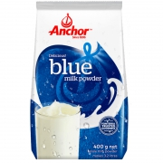 88VIP:Anchor 安佳 全脂成人奶粉 400g+福事多燕麦片400g
