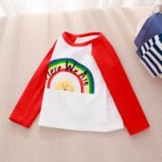 PLUS会员:专一 儿童纯棉长袖T恤打底衫*3件