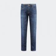 HLA 海澜之家 男士微弹直筒牛仔裤 HKNAD1R076A76116元包邮(需用券)