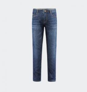 HLA 海澜之家 男士微弹直筒牛仔裤 HKNAD1R076A76