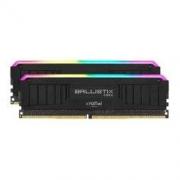 Crucial 英睿达 16GB(8G×2)套装 DDR4 4000频率 台式机内存条 Ballistix铂胜MAX系列 RGB内存 美光原厂颗粒