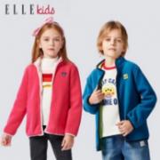 ELLE Kids 2021秋新款男女童摇粒绒外套69元包邮