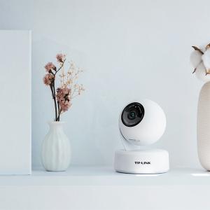 TP-LINK无线摄像头  全景家用夜视360度 可手机远程