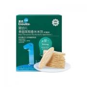 Enoulite 英氏 多乐能系列 婴幼儿米饼 1阶 苹果味 50g*5件
