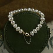 MOEFI 茉妃 1072 女士不规则淡水珍珠手链
