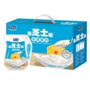 JUNLEBAO 君乐宝 涨芝士啦芝士风味低温冷藏酸奶酸牛奶180g*12袋46.8元
