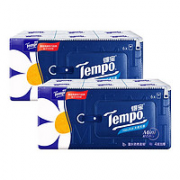 Tempo 得宝 无香迷你手帕纸  4层5张12包(210mmX210mm)