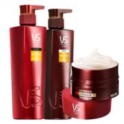 VS 沙宣 洗护套装 修护水养洗发水500ml+护发素400ml+发膜150ml 沙宣洗护套装自营