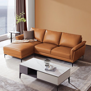 KUKa 顾家家居 NL1077 意式头层牛皮客厅沙发 2.5左+躺右¥5899.00 6.9折 比上一次爆料降低 ¥100