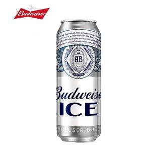 百威啤酒 特色冰酿工艺 冰啤 500ml*18听