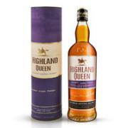 HIGHLAND QUEEN 高地女王 苏格兰调配型威士忌 700ml¥56.60 4.1折 比上一次爆料降低 ¥23.33