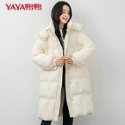 YAYA 鸭鸭羽绒服 女士羽绒衣保暖外套 DSL06B0160