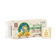 Tr阿lin 泉林本色 空芯卷纸 3层288节10卷¥13.39 4.5折 比上一次爆料降低 ¥0.24