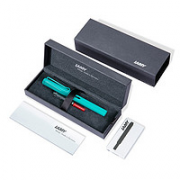 LAMY 凌美 E188 Safari狩猎系列 钢笔 Candy糖果 薄荷绿 EF尖 礼盒装¥177.10 8.1折 比上一次爆料降低 ¥4