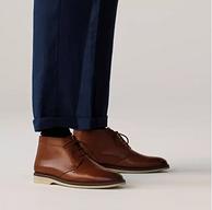 UK9码,Clarks 其乐 Malwood Mid 男士真皮短靴