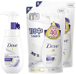 Dove 多芬 美容保湿泡沫洁面乳+替换装 160ml+140ml×2个 到手87.45元