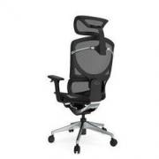 HBADA 黑白调 HDNY161 人体工学升降扶手电脑椅 黑色