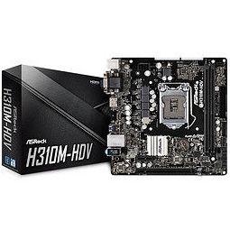 ASRock 华擎 H310CM-HDV主板( Intel H310/LGA 1151)
