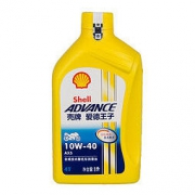 PLUS会员:Shell 壳牌 爱德王子AX5 SL 4T 摩托车机油 润滑油 10W-40 1升