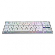 logitech 罗技 G913 TKL 87键 2.4G Lightspeed 蓝牙双模无线机械键盘 白色 GL T轴 RGB1199元包邮