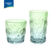 LOVWISH 乐唯诗 冰川玻璃杯 渐变色 310ml+380ml10.9元包邮(需用券)
